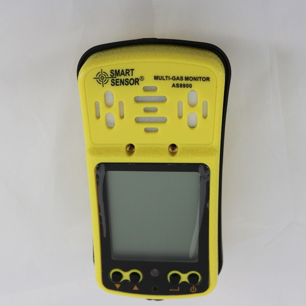 "Multi Gas Meter Detector 4in1 : O2/ H2S/ CO/ LEL ""Smart Sensor"""